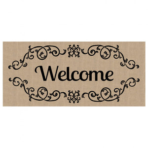 Welcome Scroll Switch Doormat