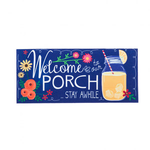 Welcome to our Porch Switch Doormat