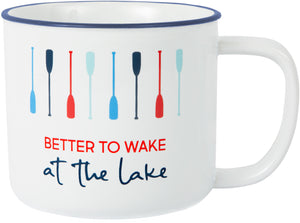 Wake at the Lake Mug