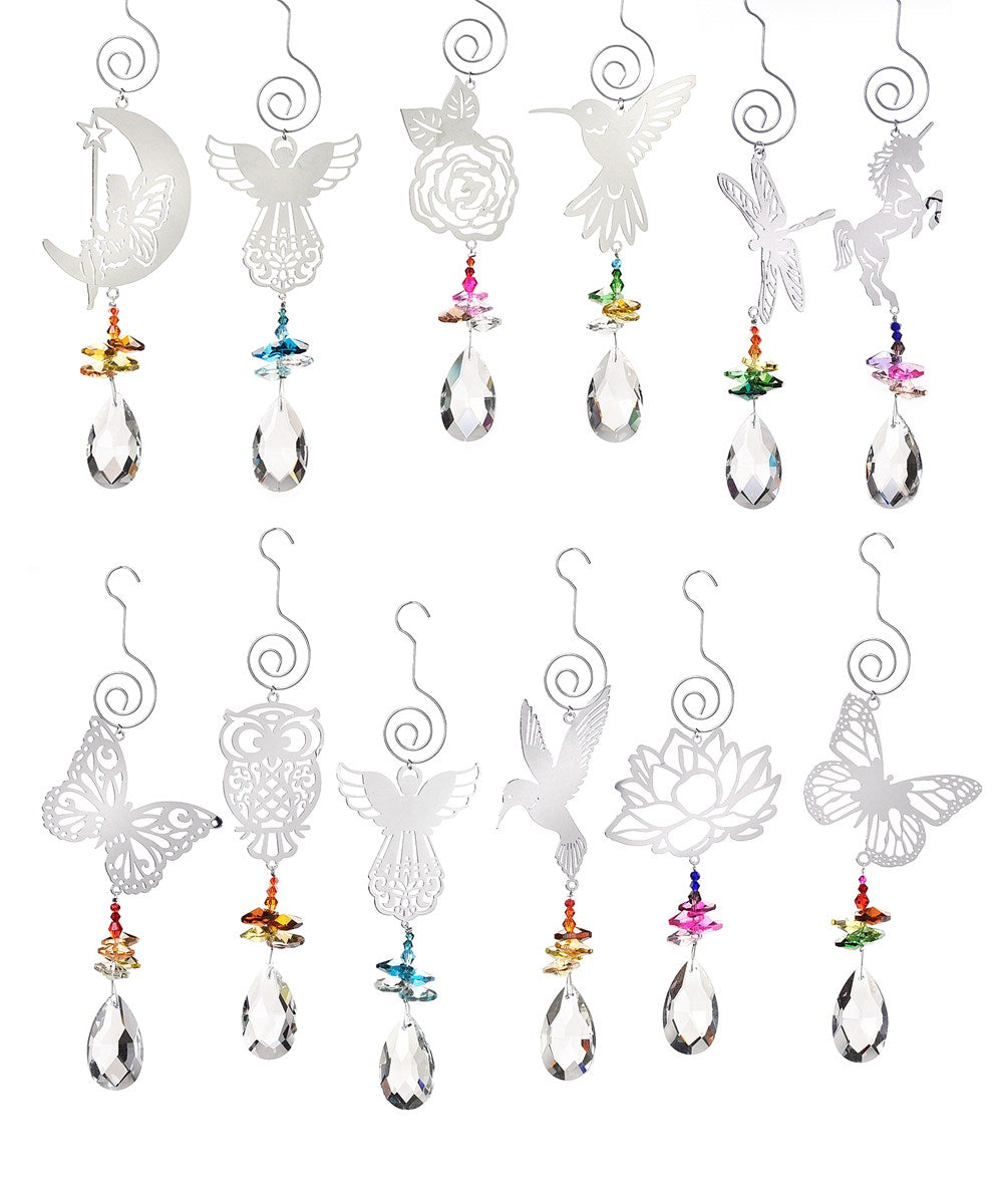 Magical Forest Prism Suncatchers