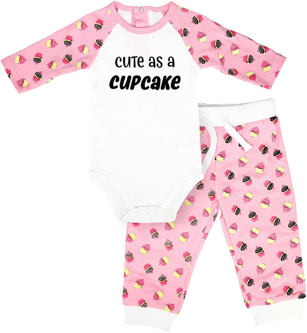 Baby Bodysuit & Pants Set