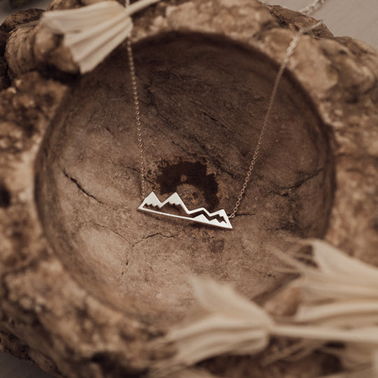 Olympic Mountain Necklace
