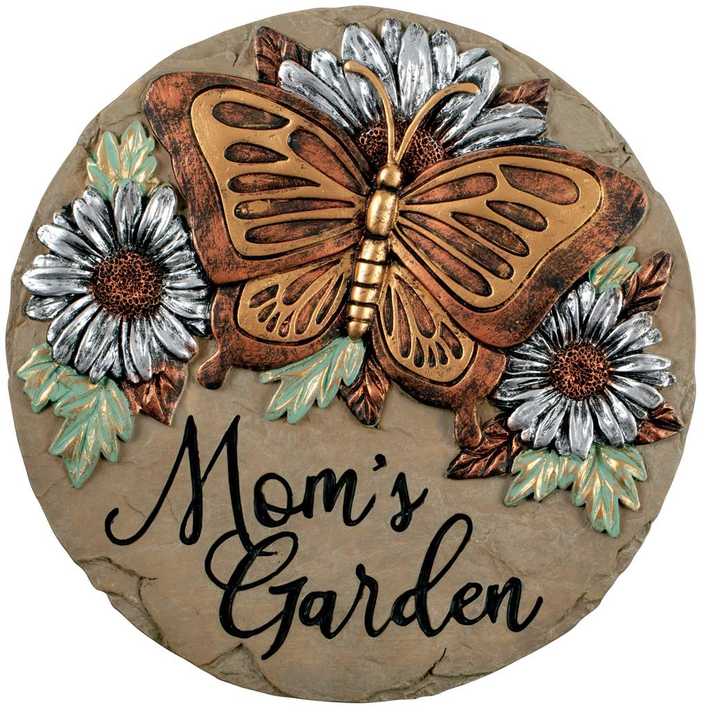 Mom's Garden Stepping Stone