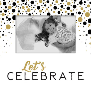 Let's Celebrate Photo Frame
