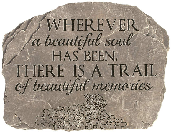 Beautiful Soul Memorial Stone