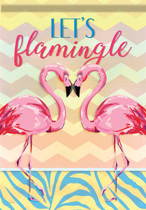 Let's Flamingle Flag