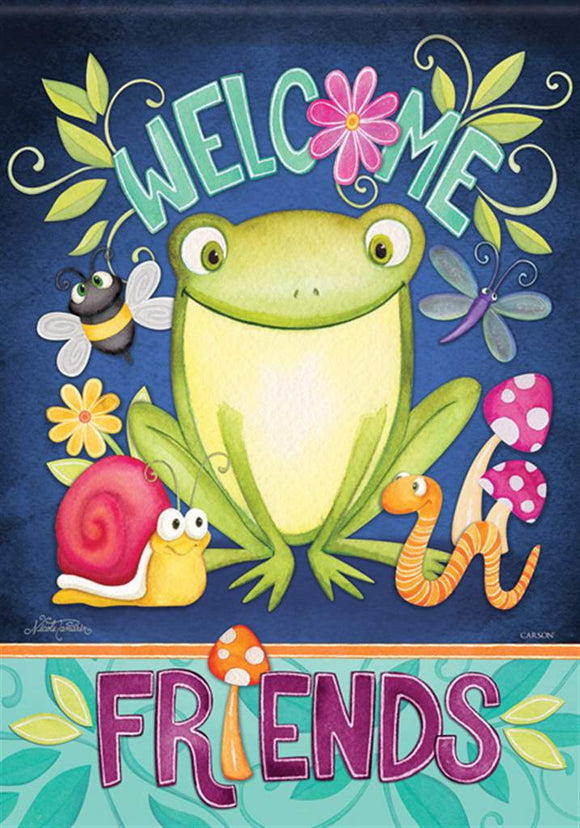 Froggy Friends Flag