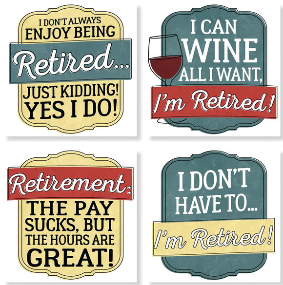Retirement Coaster set