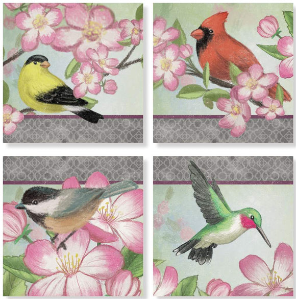 Birds Coaster Set