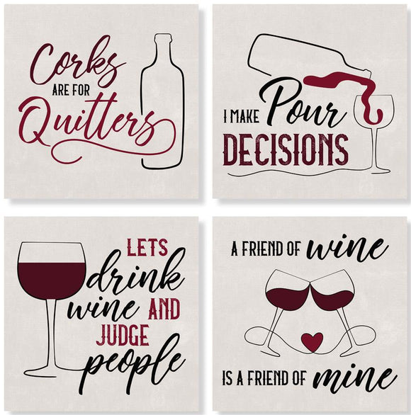 Wine Coaster Set