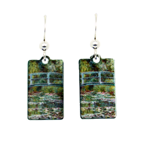 Water Lillies Earrings