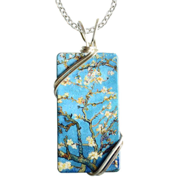 Almond Blossoms Necklace