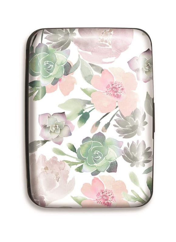 Credit Card Case Floral