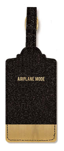 Airplane Mode Luggage Tag