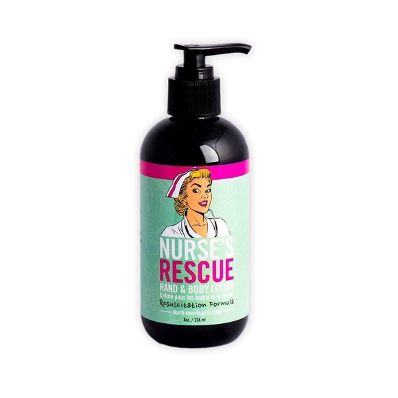 Nurse Rescue Hand & Body Lotion Pump