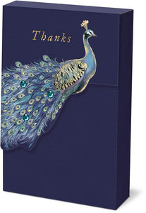 Peacock Thank You Cards