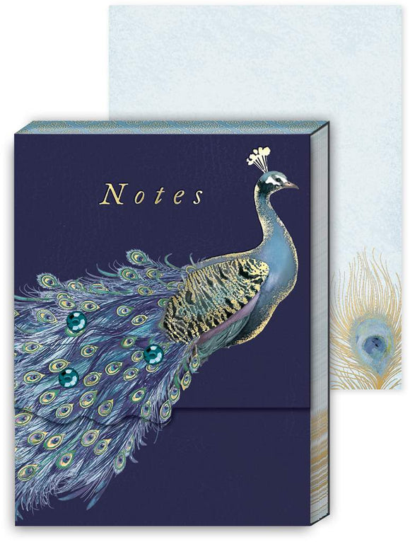 Peacock Pocket Notepad