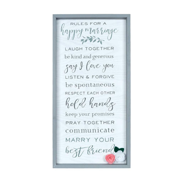 Happy Marriage Sign