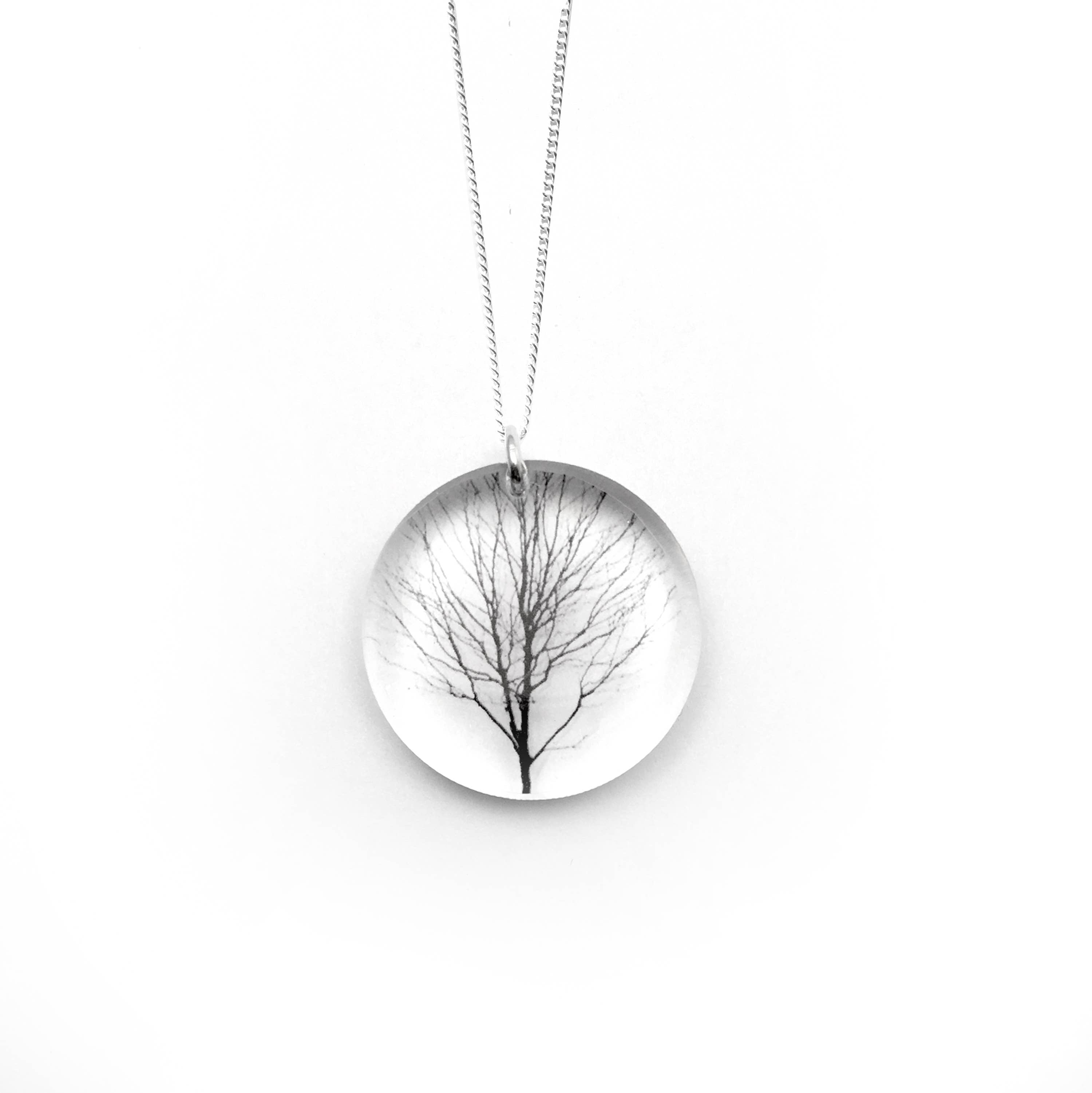 Round Tree Necklace