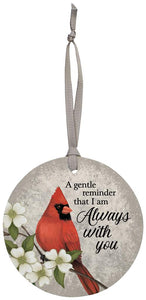 Always With You Cardinal Ornament
