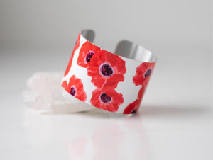 Giftologie Pretty Poppies Bracelet