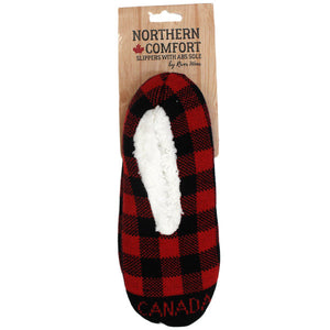 Canada flannel slippers
