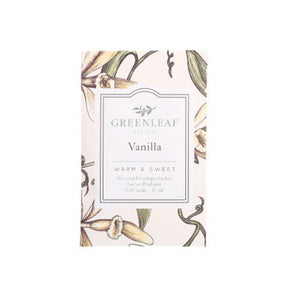 Vanilla sachet and spray