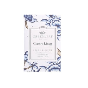 Classic linen sachet and spray