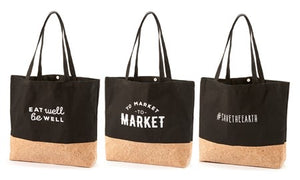 Cork and cotton shopping bag