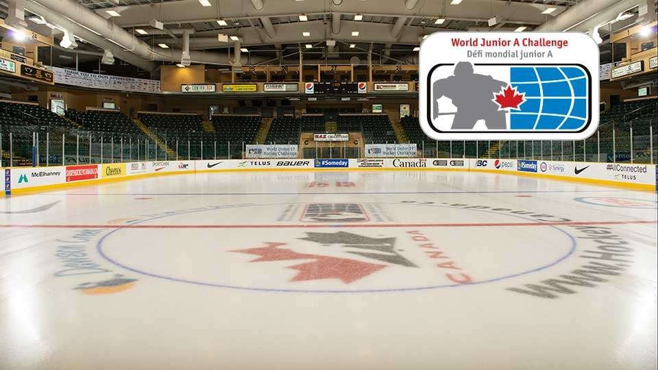 Hockey Canada Referees and Linesmen for 2019 World Junior A Challenge