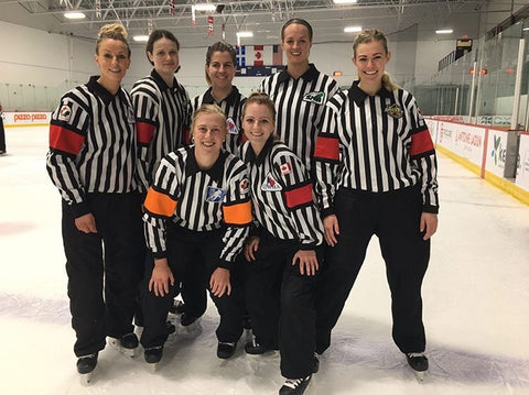 Female referees selected for Hockey Canada Level 5 seminar