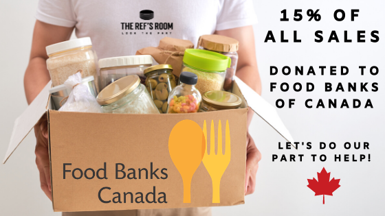 The Ref's Room Partners with Food Bank of Canada