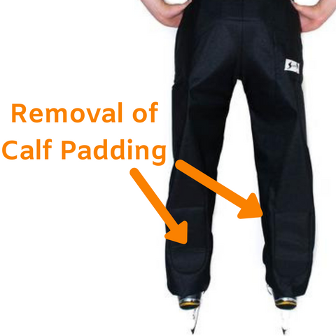 Custom Stevens Padded Referee Pants without Calf Padding