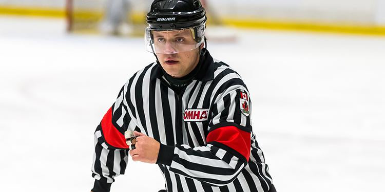 Hockey Referee Skating