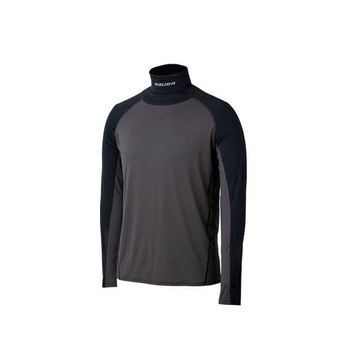 Bauer S19 Longsleeve Shirt with Neck Guard
