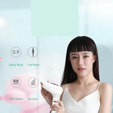 Household laser freezing point painless portable depilatory hair removal devices - shop416.com