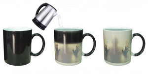 Color Changing Mug Ceramic Thermosensitive Coffee Cup