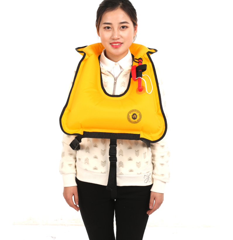 Buoyancy life jacket professional adult manual inflatable vest portable snorkeling swimming fishing equipment immersion suit