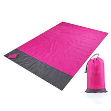 Load image into Gallery viewer, Portable Waterproof Picnic Mat Beach Mat Pocket Blanket