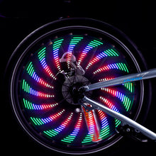 Load image into Gallery viewer, Waterproof LED Bicycle Lights Wheel Lamp Strip 32 Patterns