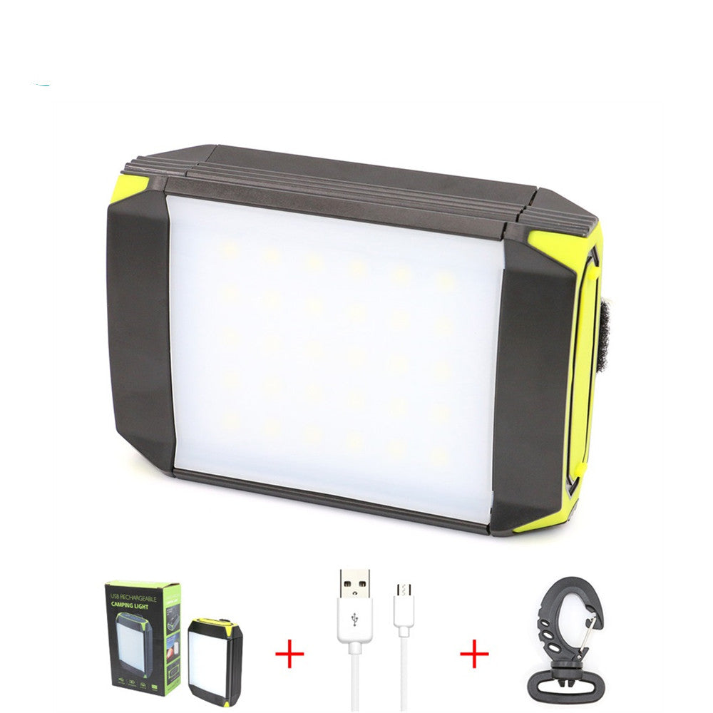 LED outdoor camping lights Built-in 6000 mAh rechargeable lithium battery
