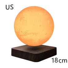 Load image into Gallery viewer, Levitating Moon mars earth Lamp Magnetic Floating LED Night Light