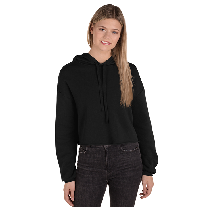 Customize, Women's Fleece Crop Hoodie, Show Your Style