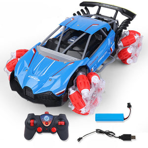 Climbing Speed Rotating Four-Wheel Drive Stunt Drift Gesture Remote Control Car