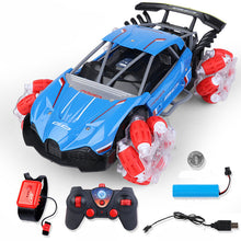 Load image into Gallery viewer, Climbing Speed Rotating Four-Wheel Drive Stunt Drift Gesture Remote Control Car