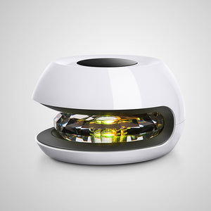 Solar Energy Car Air Purifier Negative Ion Filter Fresh Colorful Atmosphere Lamp Diffuser Ambientador