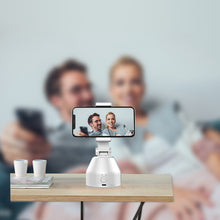 Load image into Gallery viewer, 360-Degree Object Tracking Bracket Smart Phone Live Broadcast PTZ Face Recognition New Mobile Phone Live Broadcast Bracket