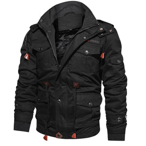 Mountainskin Men's Winter Fleece Jackets Warm Hooded Coat Thermal Thick Outerwear Male Military Jacket Mens Brand Clothing
