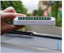 Load image into Gallery viewer, Car styling temporary parking card phone number card plate vehicle protective gear - shop416.com