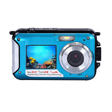 Load image into Gallery viewer, Dual-screen waterproof under water HD 24mp digital camera - shop416.com